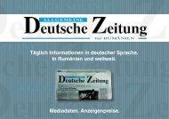 Broschüre zu Anzeigenpreisen und Mediadaten - Allgemeine ...