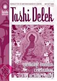 Tashi Delek - Amitabha Buddhist Centre