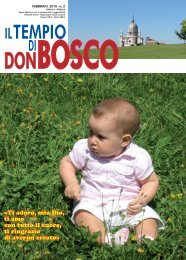 Â«Ti adoro, mio Dio, ti amo con tutto il cuore, ti ... - Colle Don Bosco