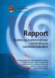 Rapport - Velferdsetaten