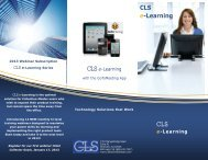 CLS e-Learning
