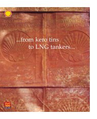 from kero tins to LNG tankers