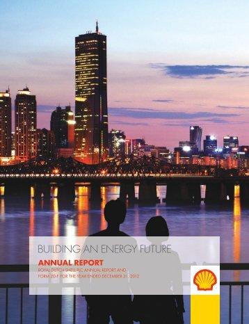 Annual Report & 20-F 2012 (193 p, 269 tables) - Beursgorilla