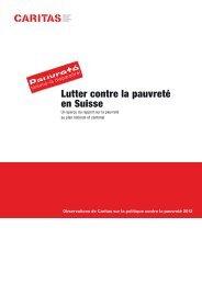 Rapport pauvreté - Caritas Vaud