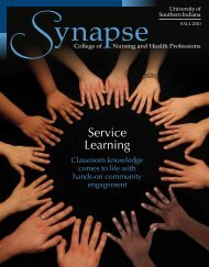 Service Learning - College of Nursing and Health Professions ...