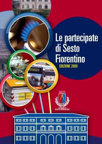Libro Partecipate 2009 - Comune di Sesto Fiorentino