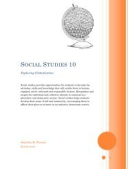 Social Studies 10