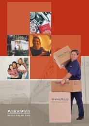 Annual Report 2005 - Wridgways