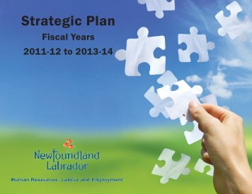 Strategic Plan - Department of Advanced Education and Skills