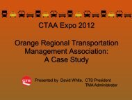 Orange Regional Transportation Management Association
