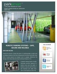 March 2012 - Robotic Parking