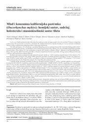 Oncorhynchus mykiss - Institut za higijenu i tehnologiju mesa