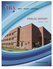 Sukkq I; V - Sukkur Institute of Business Administration