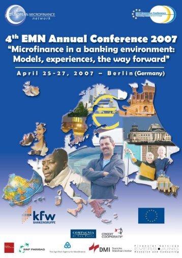 List of Participants - Réseau Européen de la Microfinance