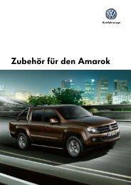Zubehör für den Amarok - VW Nutzfahrzeuge