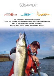 One giant leap in specialist fishing tackle! Those who ... - Zebco