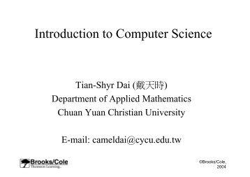 Nsa cmad iv summary - Div computer science ...