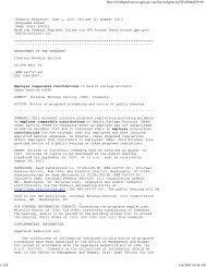 IRS 2007 Proposed Reg. Regarding Employer ... - Health Home 1