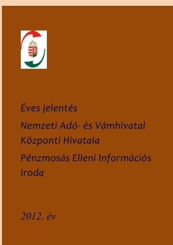 FIU_eves_jelentes_2012 - Nemzeti Adó
