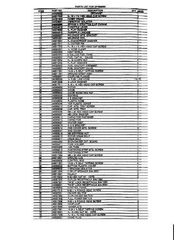 wiring diagram spreadsheets click here winco generators gp4000be parts list wiring diagram winco generators