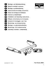 Fiat Panda (2WD) D Montage- und Betriebsanleitung Návod k ...
