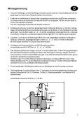 Fiat Panda (2WD) D Montage- und Betriebsanleitung Návod k ... - Page 7