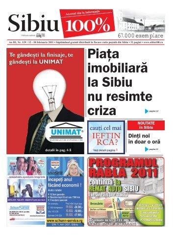 Piaţa imobiliară la Sibiu nu resimte criza - Sibiu 100