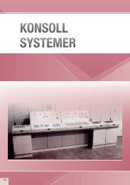 KONSOLL SYSTEMER - Eldon