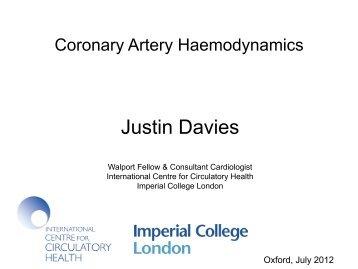 2 coronary haemodynamics final davies