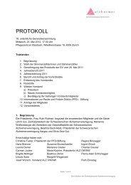 Protokoll Vereinsversammlung 2012 (PDF) - Alzheimervereinigung ...