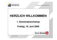 Referant Susanne Huber, Geschäftsführerin Volkswirtschaft Berner ...