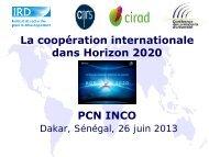 Coopération internationale - EuroAfrica-ICT