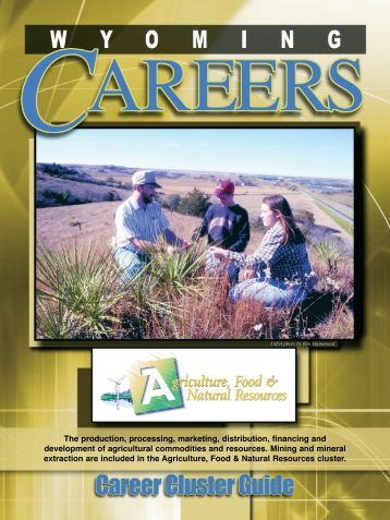 Agriculture - Wyoming Workforce Development Council