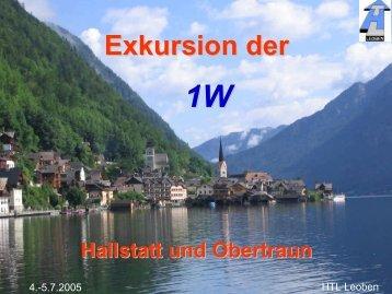 Exkursion der - HTL-Leoben