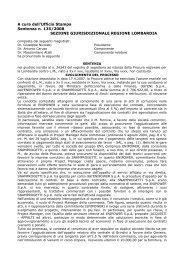 Sentenza n. 135/2008 del 4 marzo 2008 - Sezione ... - Corte dei Conti