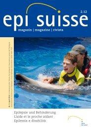 magazin | magazine | rivista Epilepsie und Behinderung L ... - ParEpi