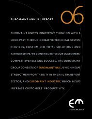 Annual Report 2006 - Euromaint