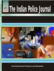 October - December - Bureau of Police Research and Development