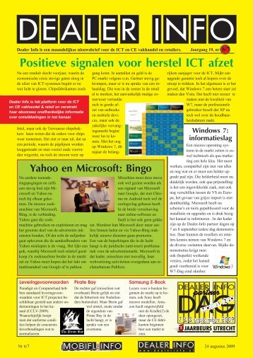 Dealer Info nummer 6/7 in pdf formaat.