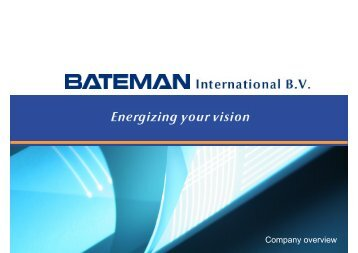 Company overview - Bateman Litwin NV
