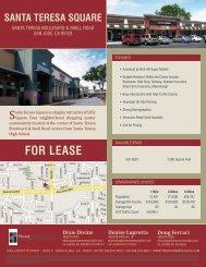Santa tereSa Square - Prime Commercial, Inc
