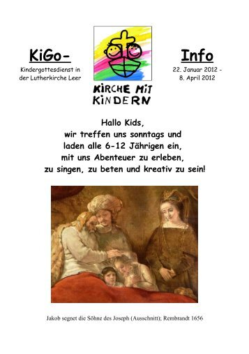 KiGo- Info - Lutherkirche Leer