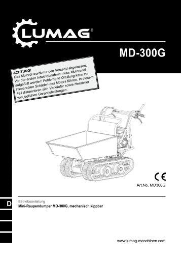 Lumag MD-300G Anleitung