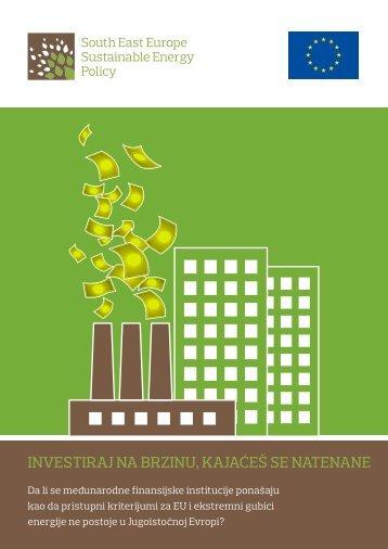 Investiraj na brzinu kajaces se natenane - NVO Green Home