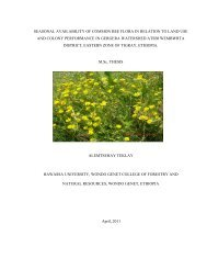 seasonal availability of common bee flora in relation to land use and ...