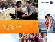 1X Advanced - Qualcomm