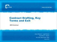 1. Contract Drafting - DLA Piper WIN