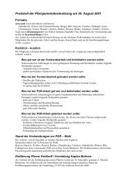 Protokoll der Pfarrgemeinderatssitzung am 20 ... - Lobberich.de