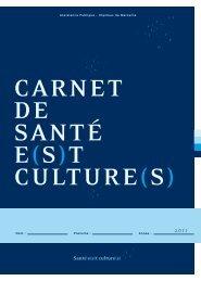Santé e(s)t culture(s) - CHU Marseille