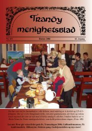 Tranøy menighetsblad - Mediamannen